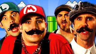 Repeat youtube video Mario Bros vs Wright Bros.  Epic Rap Battles of History Season 2