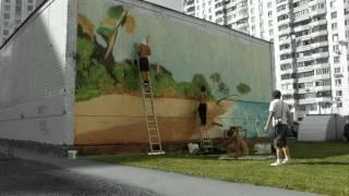 Граффити оформление, роспись стен , заказы.avi(, 2010-02-04T13:50:37.000Z)