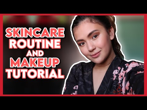 Most Requested- Skincare Routine&MakeUp Tutorial-KarenReyes - 동영상