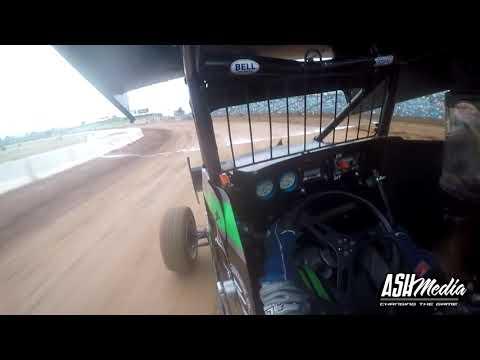 [In-Car] Lightning Sprints: Tyler Stralow - Heat Race - Sydney Speedway - 07.12.2019