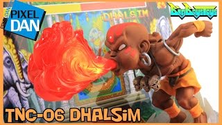 Street Fighter Dhalsim TNC-06 BigBoysToys Figure with Display Base Video Review