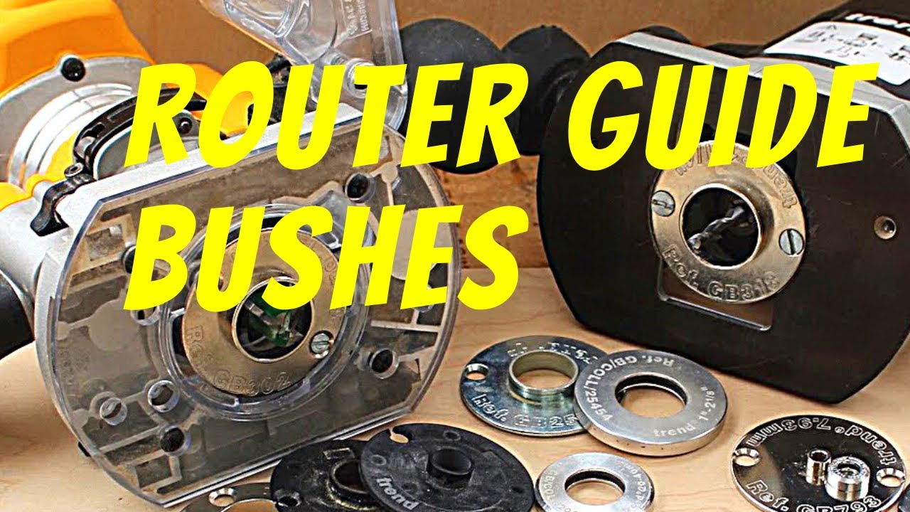 how to use router template guide bushings - how to use guide bushes collars to make jigs with a
