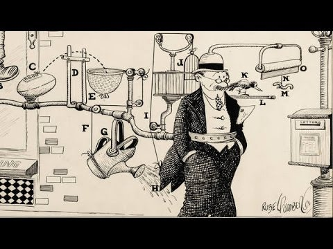 Inside the Book: Rube Goldberg | The New York Times