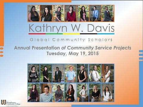 2015 Kathryn W. Davis Global Community Scholars Annual Presentation