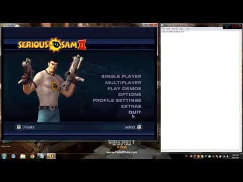 How To Hack Serious Sam Codes