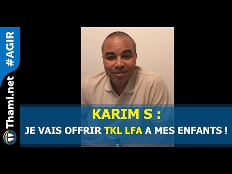 Karim S : je vais offrir TKL LFA à mes enfants !