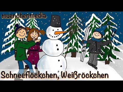 ⭐️ Schneeflöckchen, Weißröckchen - Weihnachtslieder deutsch | Kinderlieder deutsch - muenchenmedia