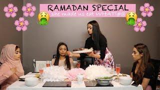 RAMADAN COME DINE WITH ME - EPISODE 1 | vlogmadan