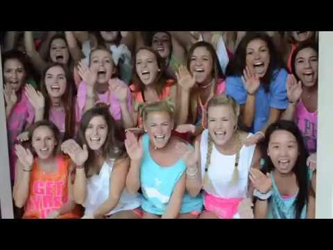 2016 Go Greek Door Chants