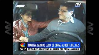 Maritza Garrido Lecca se dirigió al norte del país después de salir de prisión