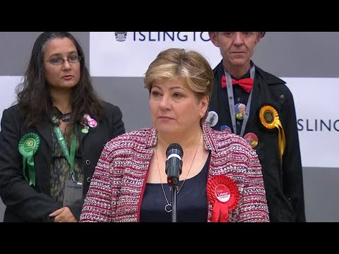 Emily Thornberry 'distraught' At Labour General Election Losses