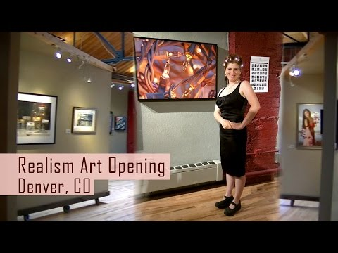 Realism Art Opening at Gallery 1261 Denver, Colorado