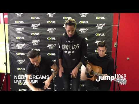 NEON DREAMS Performing LIVE at JUMP 106.9!