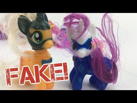 Reviewing Fake Pony Lot!?  ft. Lyra'sPlateofPancakes