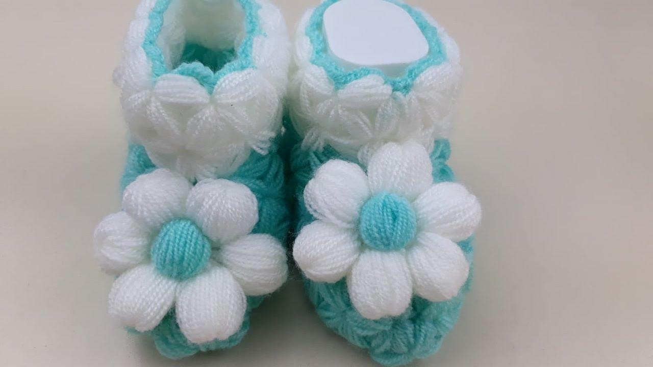 Yeni Doğan Bebek Patik Yapılışı