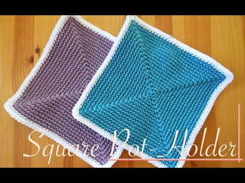 Simple and easy square crochet pot holder video tutorial left simple and easy square crochet pot holder video tutorial left handed dt1010fo
