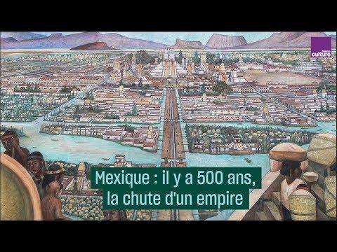 Mexique : il y a 500 ans, la chute d'un empire
