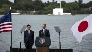 أوباما وآبي يحييان ذكرى الهجوم على قاعدة