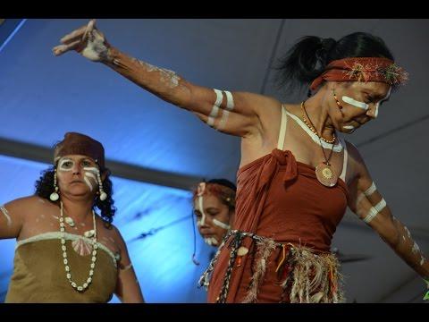 Australia Aboriginal Dances at the Townsville Cultural Fest 2014 - Part 1
