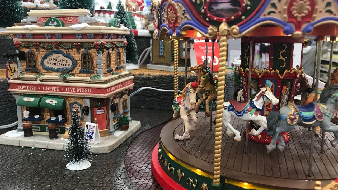 model christmas village michaels store 4k lemax - Michaels Christmas Village