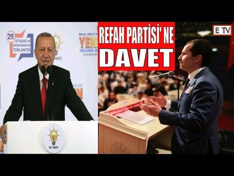 """""""CUMHURBAŞKANINI REFAH PARTİSİ' NE DAVET ETTİ"""" - DR. FATİH ERBAKAN - Y. REFAH PARTİSİ GENEL BAŞKANI"""
