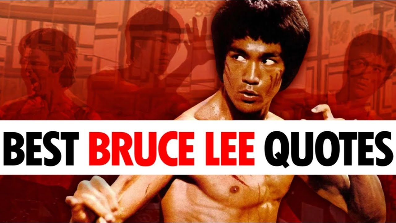Top 10 Bruce Lee Quotes For Motivation Martial Arts Journey Youtube