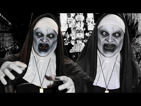 The Conjuring 2 Valak - Demon Nun - Makeup Tutorial!