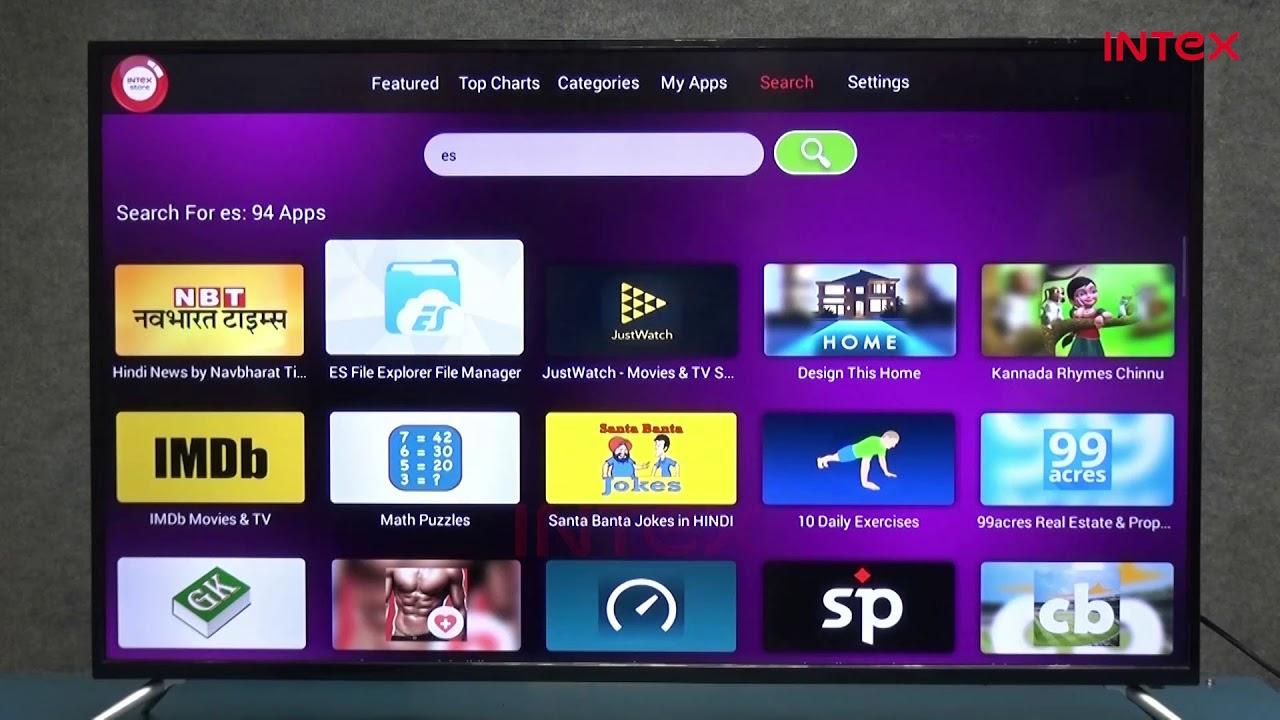 Intex LED TV  Transferring data from internal storage to external storage  Hindi