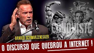 Arnold Schwarzenegger 2019 - O dis¢urso que quebrou a internet - Legendado