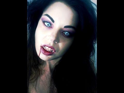 MAKEUP HALLOWEEN TUTORIAL Vampira Sexy: collaborazione con Drezzy.it