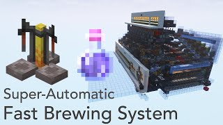 Minecraft 1.16: Super-Automatic Fast Potion Brewer