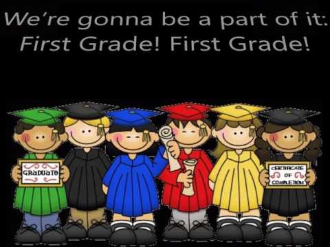 "First Grade! First Grade! - ""New York, New York"" Kindergarten Moving-Up Graduation Song"