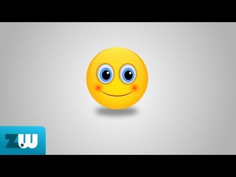 Inkscape Draw Emoticon Youtube
