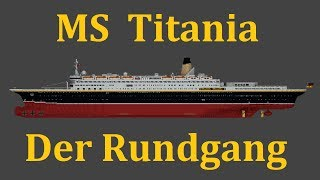 Minecraft - MS Titania: Der Rundgang