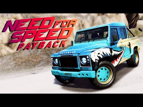 Need for Speed Payback UPDATE PL - ZAGINIONY LAND ROVER DEFENDER