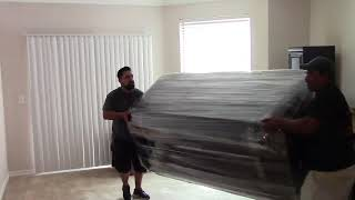 How to Handle Sleeper Sofa Thru Stairs by Professional Movers | Rescue Movers