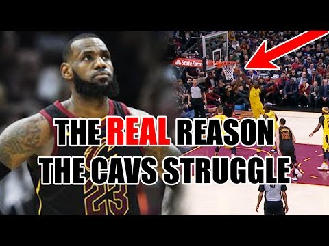 The REAL Reason Why The Cavs STRUGGLE In The NBA Playoffs
