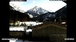 Oberjoch Ostrachtal webcam time lapse 2011-2012