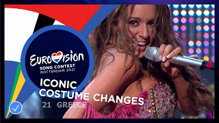 Iconic Costume Changes on the Eurovision stage
