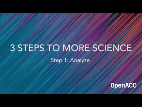 3 Steps to More Science Guide  – Step 1: Analyze