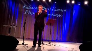 Tadeusz Ross w Kabarecie Filip z konopi Filipa Borowskiego 21-2-2013 r
