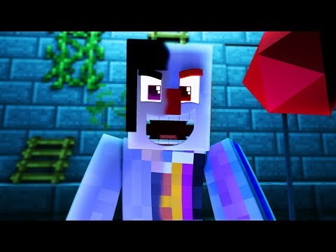 Minecraft The It - BECOMING PENNYWISE THE KILLER CLOWN! | Minecraft Scary Roleplay