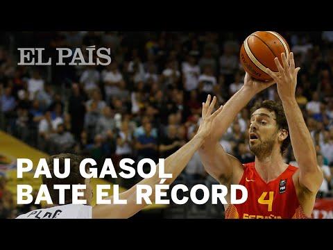 Pau Gasol bate el récord de puntos en el Eurobasket | Deportes
