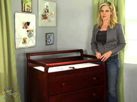DaVinci Kalani 3 Drawer Changing Table   Product Review Video