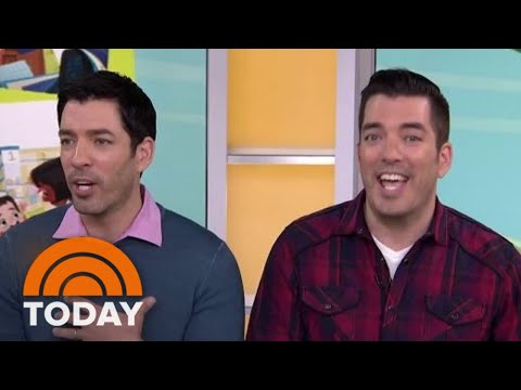 Drew And Jonathan Scott Play A Fun Game Of Which Brother!  TODAY