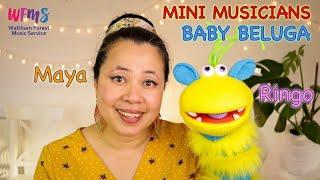 MINI MUSICIANS: Baby Beluga by RAFFI. Ukulele Cover by Maya Sapone.