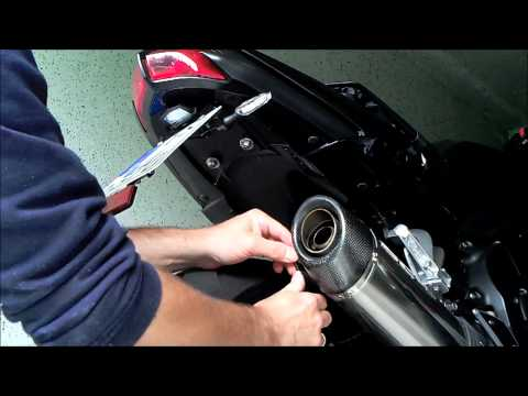 Fz1 SC Project Exhaust with-without Db killer