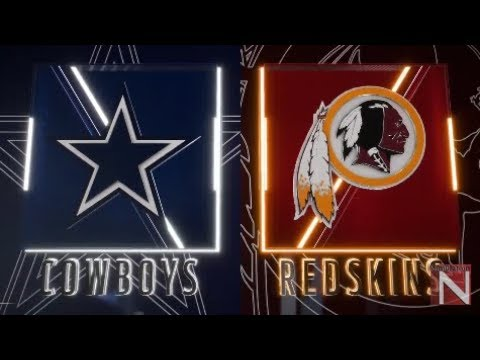 Madden 20 Simulation - Dallas Cowboys Vs Washington Redskins - Simulation Nation