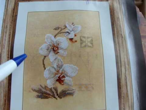 Вышивка крестом. Lanarte. Орхидеи