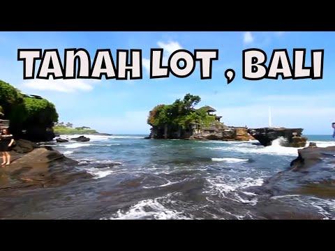 Tanah Lot Temple in Bali  - Bali's Scenic Sea Temple